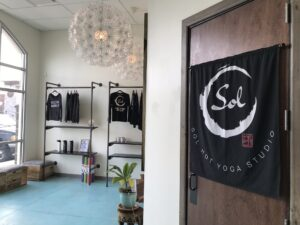 © Sol Hot Yoga Studio_Reception Area