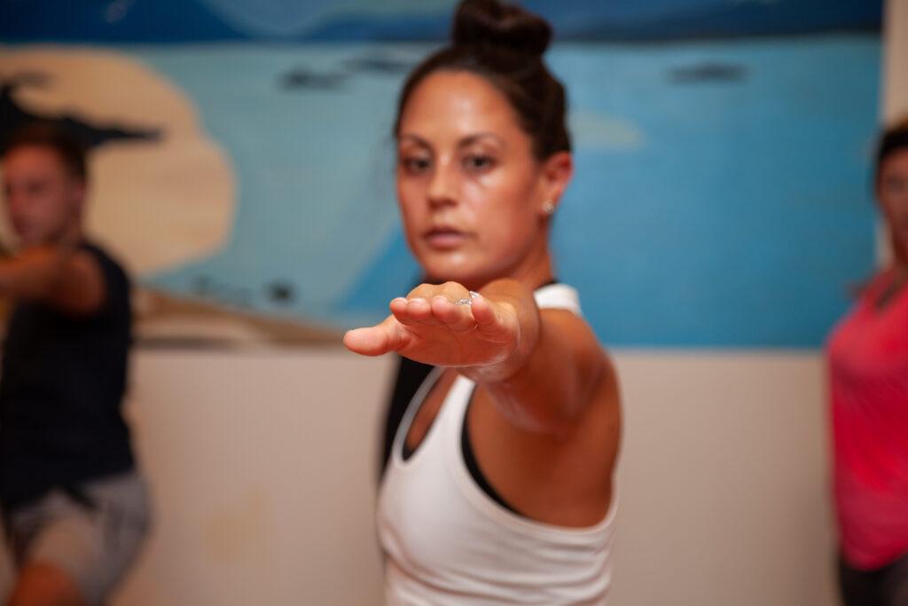 © Sol Hot Yoga Studio_Warrior2 Alignment